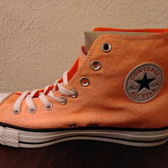 Light Orange Converse Chuck Taylors
